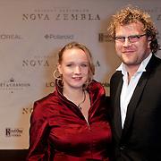 NLD/Amsterdam/20111121 - Premiere Nova Zembla 3D, Mads Wittemans en partner