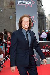 "Outlander star Sam Heughan. Opening Night Gala and World Premiere of ""The Legend of Barney Thompson"", Edinburgh International Film Festival 17 - 28 June 2015."