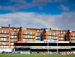 A general view of Cardiff Arms Park, home of Wales<br /> <br /> Photographer Simon King/Replay Images<br /> <br /> Six Nations Round 5 - Wales Women v Ireland Women- Sunday 17th March 2019 - Cardiff Arms Park - Cardiff<br /> <br /> World Copyright © Replay Images . All rights reserved. info@replayimages.co.uk - http://replayimages.co.uk