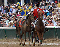 Street Sense with Calvin Borel wins the 133rd Kentucky Derby