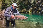 Monster rainbow, double digit rainbow trout.