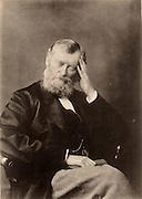 William Edward Forster (1818-1886) English Liberal politician: Elementary Education Act (1870) Chief secretary for Ireland (1880. Married the daughter of Dr Arnold of Rugby school. Brother-in-law of the poet Matthew Arnold.  Photograph of 1874.