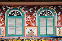 Malaisie, état de Malacca, Malacca, Centre historique, patrimoine Mondial de l'Unesco, Chinatown, fenetre // Malaysia, Malacca state, Malacca, Unesco Wold Heritage, Chinatown, window