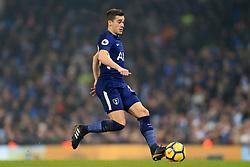 16th December 2017 - Premier League - Manchester City v Tottenham Hotspur - Harry Winks of Spurs - Photo: Simon Stacpoole / Offside.