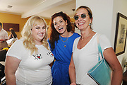 LOS ANGELES, CA - AUGUST 12: (EXCLUSIVE COVERAGE) Rebel Wilson, Debra Messing and Allison Janney attend  the Jen Klein Day of Indulgence on August 12, 2018 in Los Angeles, California.  (Photo by Amy Graves)