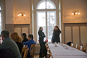 GHISY MEIZERAK; KATJA GUTBERLET, MALOJA PALACE.  St. Moritz, Switzerland. 23 January 2009 *** Local Caption *** -DO NOT ARCHIVE-© Copyright Photograph by Dafydd Jones. 248 Clapham Rd. London SW9 0PZ. Tel 0207 820 0771. www.dafjones.com.<br /> GHISY MEIZERAK; KATJA GUTBERLET, MALOJA PALACE.  St. Moritz, Switzerland. 23 January 2009