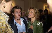 Graham le Saux and his wife Marian. A photo exhibition in support of Facing the World <br />Hosts: Christopher Bailey with Eliane Fattal, Yasmin Mills, Emily Oppenheimer Turner, Catherine Prevost and Elizabeth Saltzman Walker.  Burberry, 18 - 22 Haymarket, SW1  .  9 November 2005. ONE TIME USE ONLY - DO NOT ARCHIVE © Copyright Photograph by Dafydd Jones 66 Stockwell Park Rd. London SW9 0DA Tel 020 7733 0108 www.dafjones.com