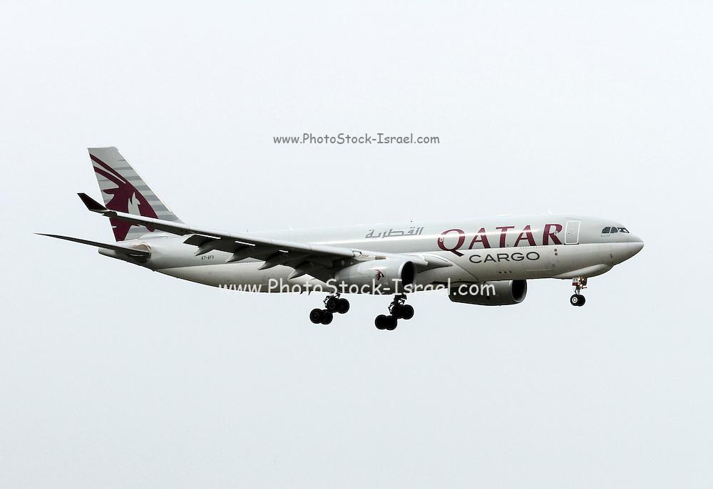 Qatar Airways Cargo, Airbus A330 at Milan, Italy
