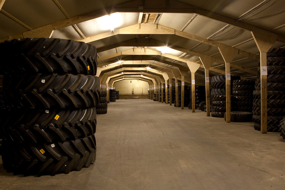 Large Tyre Storage