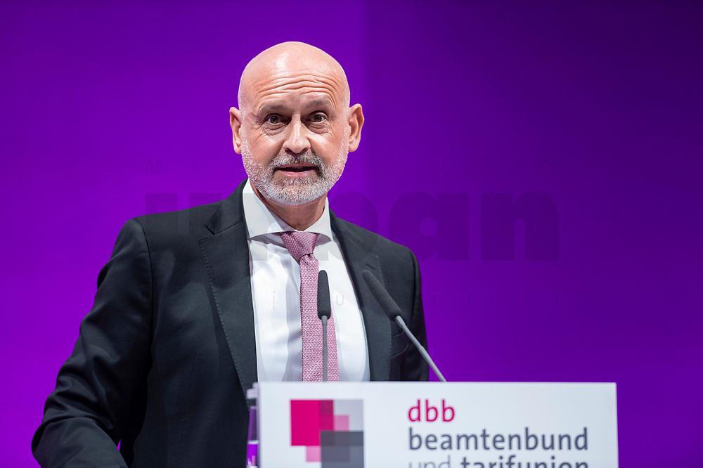 08 JAN 2019, KOELN/GERMANY<br /> Volker GEyer, Stellv. Bundesvorsitzender Deutscher Beamtenbund, dbb Jahrestagung 2019, Deutscher Beamtenbund, Messe Köln<br /> IMAGE: 20190108-01-115
