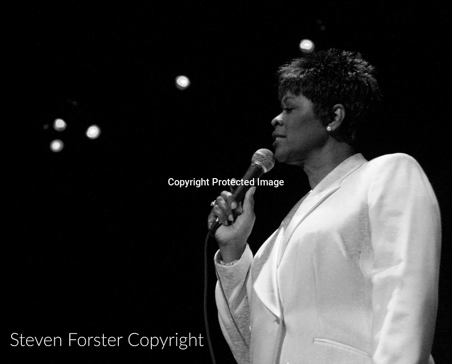 PH0TO BY STEVEN FORSTER<br /> Prairie Home Companion at the Saenger Theatre Saturday January 31, 2004. New Orleans Queen of Soul Irma Thomas.