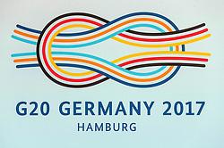 July 7, 2017 - Hamburg, Hamburg, Deutschland - Begrüßung der Teilnehmer des 12. G20 Gipfel 2017. Hamburg, 07.07.2017 (Credit Image: © Future-Image via ZUMA Press)