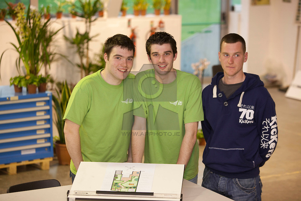 Michael Yallop from Maynoth, Richard Dooner from Castleknock and Mathew Kenny from Cranford Wexford
