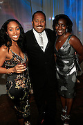 """Michele Murray, Alize Brand Director, Frank Ski and Kisha Walker at The Ludacris Foundation 5th Annual Benefit Dinner & Casino Night sponsored by Alize, held at The Foundry at Puritan Mill in Atlanta, Ga on May 15, 2008.. Chris """"Ludacris"""" Bridges, William Engram and Chaka Zulu were the inspiration for the development of The Ludacris Foundation (TLF). The foundation is based on the principles Ludacris learned at an early age: self-esteem, spirituality, communication, education, leadership, goal setting, physical activity and community service. Officially established in December of 2001, The Ludacris Foundation was created to make a difference in the lives of youth. These men have illustrated their deep-rooted tradition of community service, which has broadened with their celebrity status. The Ludacris Foundation is committed to helping youth help themselves."""