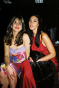Sophie Marceau and Monica Bellucci. Post Golden Globes Miramax party. Beverley Hilton. 21 January 2001. © Copyright Photograph by Dafydd Jones 66 Stockwell Park Rd. London SW9 0DA Tel 020 7733 0108 www.dafjones.com
