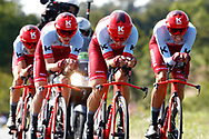 Team Katusha - Alpecin during the Tour de France 2018, Stage 3, Team Time Trial, Cholet-Cholet (35 km) on July 9th, 2018 - Photo Luca Bettini/ BettiniPhoto / ProSportsImages / DPPI