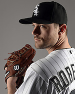 GLENDALE, ARIZONA - FEBRUARY 27:  David Robertson #30 of the Chicago White Sox poses for a portrait during photo day on February 27, 2015 at Camelback Ranch in Glendale Arizona.  (Photo by Ron Vesely)    Subject:  David Robertson