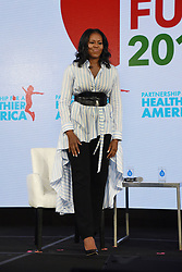 Former first lady Michelle Obama attends at the Healthier America's 2017 summit on May 12, 2017 at the Renaissance hotel in Washington, DC. Photo by Olivier Douliery/ Abaca