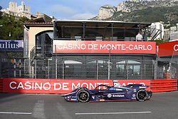 May 11, 2019 - Monaco, Monaco - 4 Dutch driver Robin Frijns of Envision Virgin Racing drive her single-seater during the 3rd edition of Monaco E-Prix, in port neighborhood in Monaco, France  (Credit Image: © Andrea Diodato/NurPhoto via ZUMA Press)