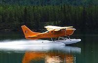 Breaking the silence on Schwatka Lake, Whitehorse, Yukon.