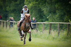 Hasso Anna (SWE) - Clover <br /> Cross Country <br /> CCI4*  Luhmuhlen 2014 <br /> © Hippo Foto - Jon Stroud