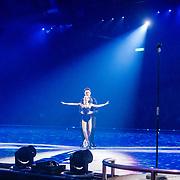 NLD/Utrecht//20170323 - Première 'Believe' van Holiday On Ice, Rene Froger en Maxim Froger op het ijs van Holiday on Ice