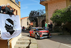 April 7, 2018 - Corse, France - CORSICA Linea - TOUR DE CORSE 2018 Kris MEEKE, Paul NAGLE CITROEN C3 WRC (Credit Image: © Panoramic via ZUMA Press)