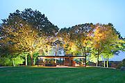 The Glass House Architect Philip Johnson 1949   Photographer Robin Hill (c)