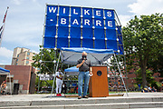 Wilkes-Barre, PA (July 11, 2020) -- Pennsylvania State Representative Eddie Day Pashinski speaks at the Black Lives Matter NEPA United Movement event at Wilkes-Barre Public Square.