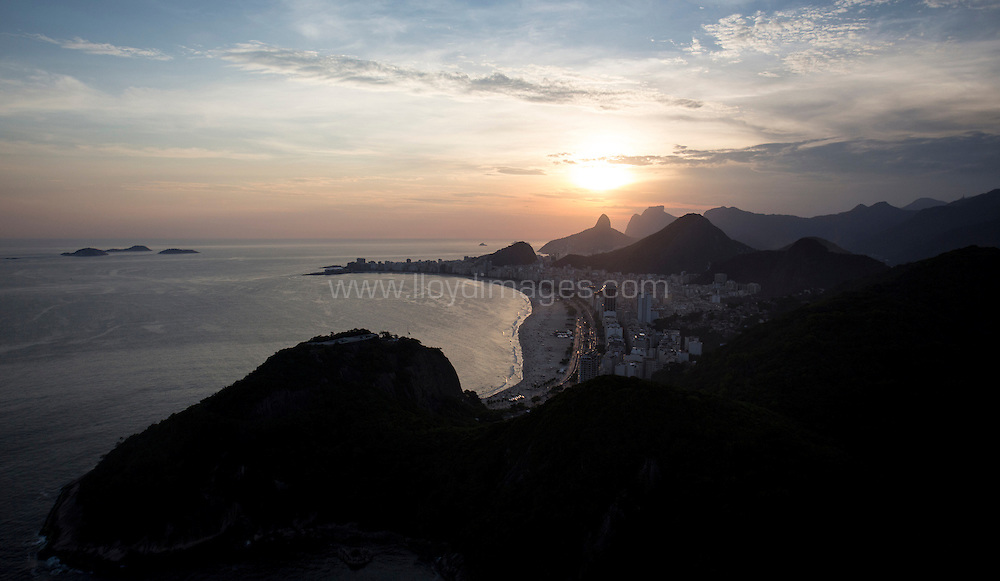 8th December, 2012. Rio de Janeiro, Brazil..Extreme Sailing Series 2012, Act 8..Images of Rio de Janeiro from the air..Credit: Lloyd Images.
