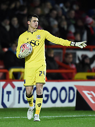 Max O'Leary of Bristol City - Mandatory by-line: Paul Knight/JMP - Mobile: 07966 386802 - 19/01/2016 -  FOOTBALL - Ashton Gate Stadium - Bristol, England -  Bristol City v West Bromwich Albion - FA Cup third round