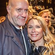 NLD/Amsterdam/20160311 - Inloop Boekenbal 2016, Elle van Rijn en partner Nicola Villa