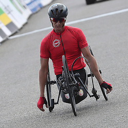 18-06-2017: Wielrennen: NK Paracycling: Montferlands-Heerenberg (NED) wielrennen <br />Johan Reekers (Haaksbergen)