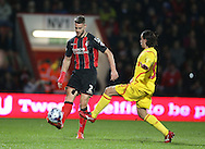 AFC Bournemouth defender Simon Francis during the Capital One Cup match between Bournemouth and Liverpool at the Goldsands Stadium, Bournemouth, England on 17 December 2014.