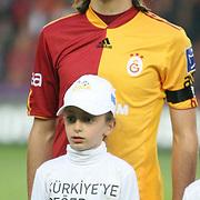 Galatasaray's Mehmet TOPAL during their Turkish superleague soccer derby match Galatasaray between Fenerbahce at the AliSamiYen Stadium at Mecidiyekoy in Istanbul Turkey on Sunday, 28 March 2010. Photo by TURKPIX