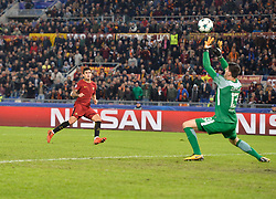 October 31, 2017 - Rome, Italy - Diego Perotti during the Champions League football match A.S. Roma vs Chelsea Football Club at the Olympic Stadium in Rome, on october 31, 2017. (Credit Image: © Silvia Lore/NurPhoto via ZUMA Press)