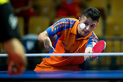 Montanus Jean-Paul of Netherlands plays final match during Day 4 of SPINT 2018 - World Para Table Tennis Championships, on October 20, 2018, in Arena Zlatorog, Celje, Slovenia. Photo by Vid Ponikvar / Sportida