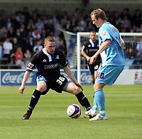 Photo: Mark Stephenson/Richard Lane Photography. <br /> Chester City v  Macclesfield Town. Coca-Cola Football League Two. 03/05/2008. <br /> Macclesfield's John Rooney and Chester's Tony Grant