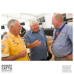Walter Wilmott;Bruce Harre;Eoin Young at the Launch of the Bruce McLaren Movie project at the A1 Grand Prix of New Zealand at the Taupo Motorsport Park, Taupo, New Zealand.