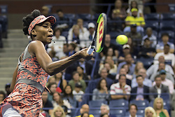 August 30, 2017 - New York, New York, USA - AUG 30, 2017: Venus Williams (USA) during the 2017 U.S. Open Tennis Championships at the USTA Billie Jean King National Tennis Center in Flushing, Queens, New York, USA. (Credit Image: © David Lobel/EQ Images via ZUMA Press)