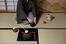"""The Tea Ceremony as performed by my friend """"Yass"""" Yasuhiro Goto, Tokyo, Japan. December 11, 2015.  Photography ©2015 Michael Lichter."""