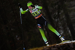 Klemencic Anita (SLO) during the Ladies sprint free race at FIS Cross Country World Cup Planica 2019, on December 21, 2019 at Planica, Slovenia. Photo By Grega Valancic / Sportida
