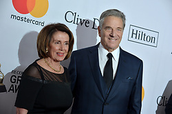 Nancy Pelosi attends the Clive Davis and Recording Academy Pre-GRAMMY Gala and GRAMMY Salute to Industry Icons Honoring Jay-Z on January 27, 2018 in New York City.. Photo by Lionel Hahn/ABACAPRESS.COM