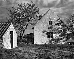 Stormy Afternoon, old farmhouse, Gotland, Sweden