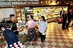 May 30, 2017 - Stockholm, Sweden - Crown princess Victoria..Official visit from Denmark, Visit at Paradiset, Stockholm, 2017-05-30..(c) Ola Axman / IBL....Officiellt besök frÃ¥n Kronprinsparet av Danmark, besök Paradiset, Stockholm, 2017-05-30 (Credit Image: © Ola Axman/IBL via ZUMA Press)