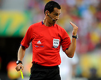 Fifa Brazil 2013 Confederation Cup / Group B Match / <br /> Uruguay vs Tahiti 8-0 ( Arena Pernambuco Stadium - Recife , Brazil )<br /> Pedro PROENCA - Referee ,during the match between Uruguay and Tahiti