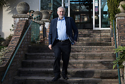 © Licensed to London News Pictures . 04/02/2017 . Liverpool, UK . JEREMY CORBYN . Labour Party leader Jeremy Corbyn and Shadow Chancellor John McDonnell launch the party's first regional economic conference at the Devonshire House Hotel . Photo credit : Joel Goodman/LNP