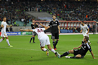 Esultanza gol Kostas Manolas Goal celebration <br /> Baku 27-09-2017 Football Champions League 2017/2018 Group C Qarabag - AS Roma Foto Gino Mancini/Insidefoto