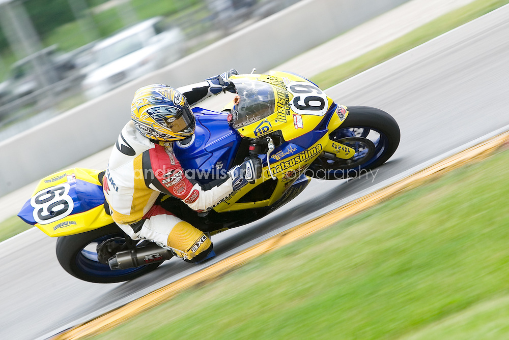 Round 6 - AMA Superbike Series - Road America - Elkhart Lake, WI - June 6-8, 2008<br /> <br /> :: Contact me for download access if you do not have a subscription with andrea wilson photography. ::  <br /> <br /> :: For anything other than editorial usage, releases are the responsibility of the end user and documentation will be required prior to file delivery ::