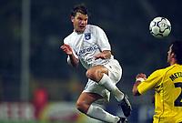 Fotball. UEFA Champions League. 25.09.2002.<br /> Borussia Dortmund v Auxerre<br /> Teemu Tainio, Auxerre<br /> Foto: Jean-Marie Hervio, Digitalsport